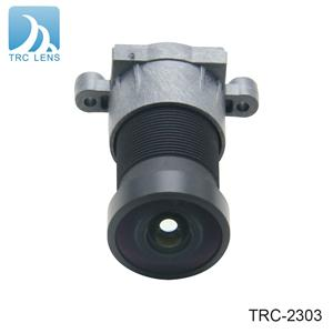 2.8mm wide angle lens automotive camera waterproof car rear view lens