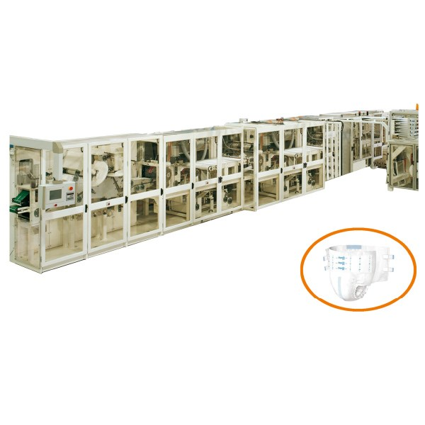 Semi Servo Adult Diaper Production Line