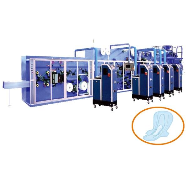 Semi Automatic Sanitary Napkin Making Machine