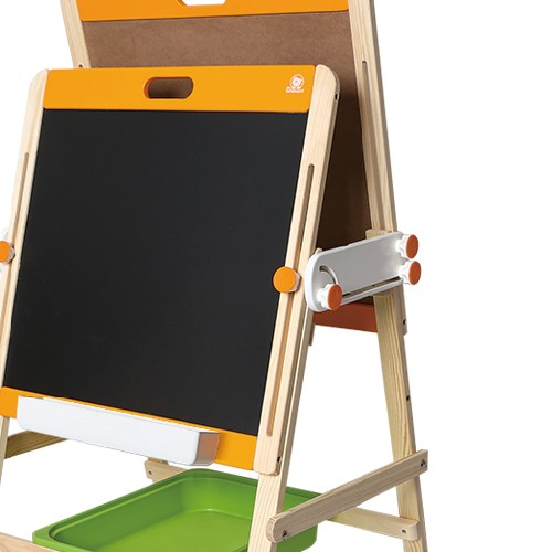 Topbright Double Plates Chalkboard Wooden Drawing Easel