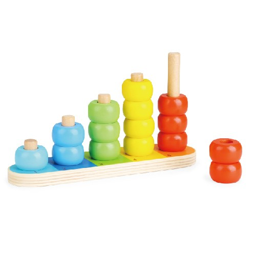Topbright Educational Basic Counting Stacker Toy