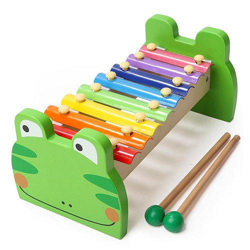 Topbright Frog Xylophone Green Baby Musical Instrument Set Toy