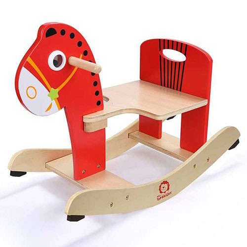 Topbright Wooden Rocking Horse Toy