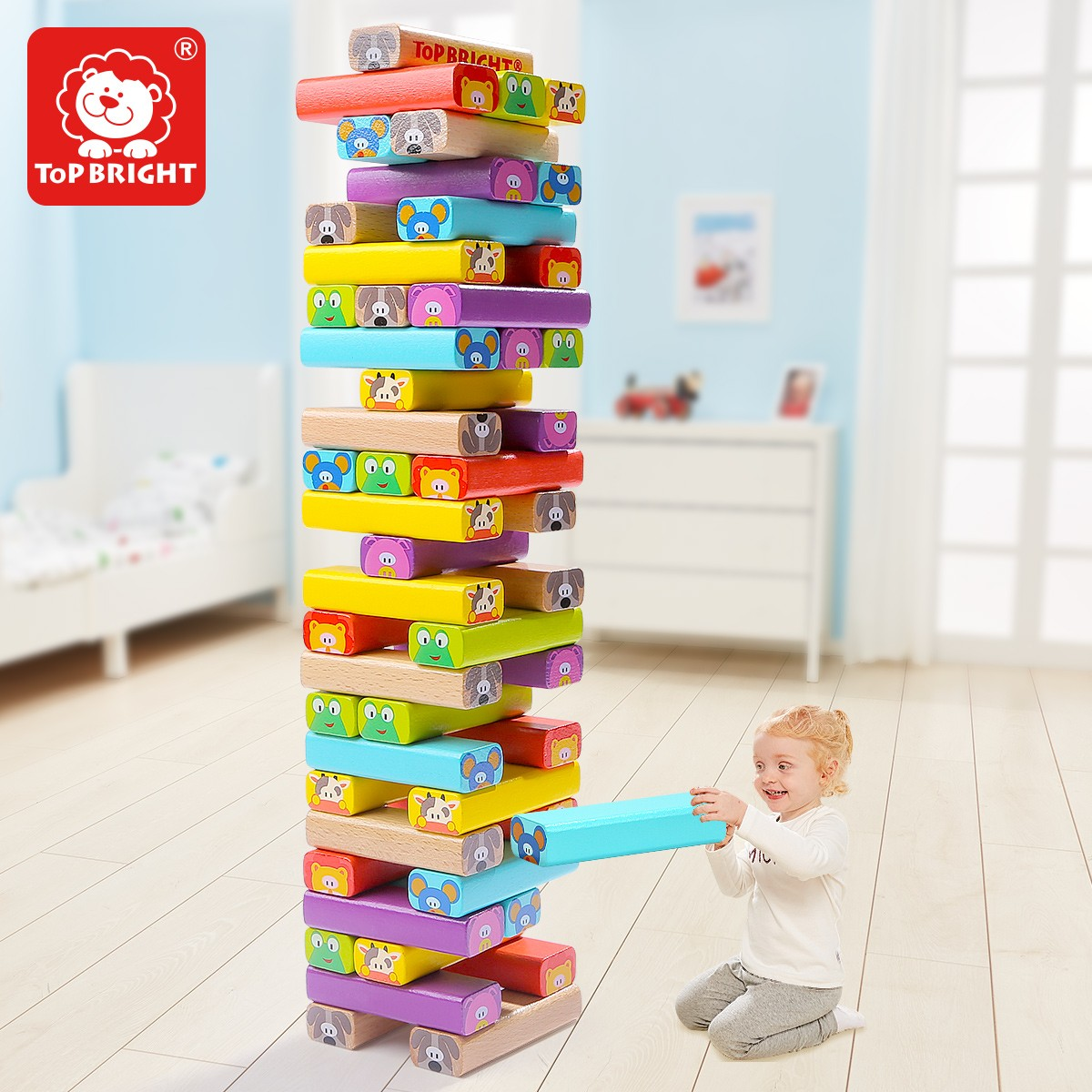 Topbright Animal Stacking Toys Manufacturers, Topbright Animal Stacking Toys Factory, Topbright Animal Stacking Toys