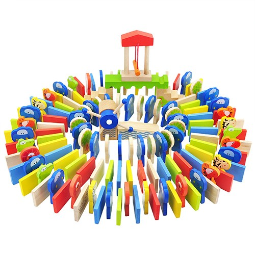 Topbright Elephant Domino Building Blocks