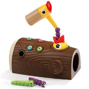 Topbright Educational Wood pecker Eating Caterpillar Game Toy for Kids