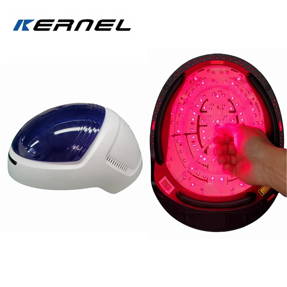 New product coming Low-Level laser therapy Helmet for hair loss and regrowth