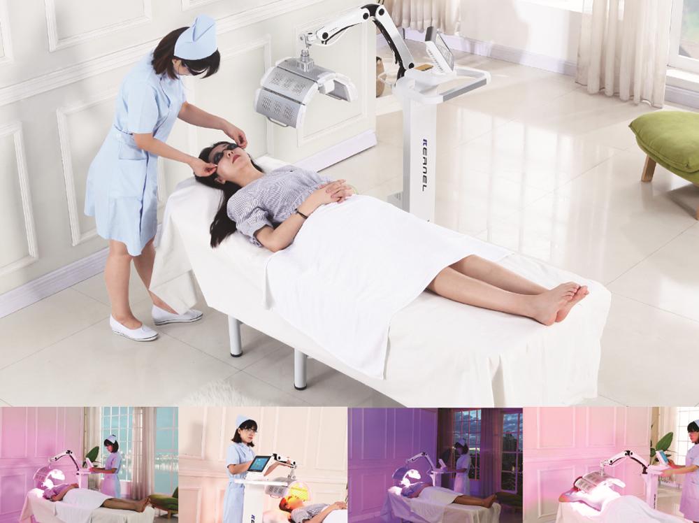 Photodynamic therapy machine