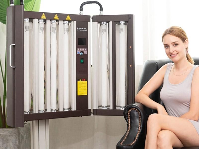 Half-lichaam UV-fototherapie KN-4002B1 gebruikersbediening