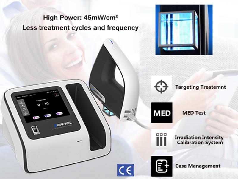 Эксимерный свет Kernel'S KN-5000D 308 нм для лечения витилиго