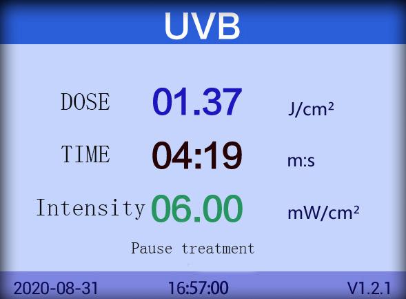 UVB 311 مصباح لمرض الصدفية البهاق