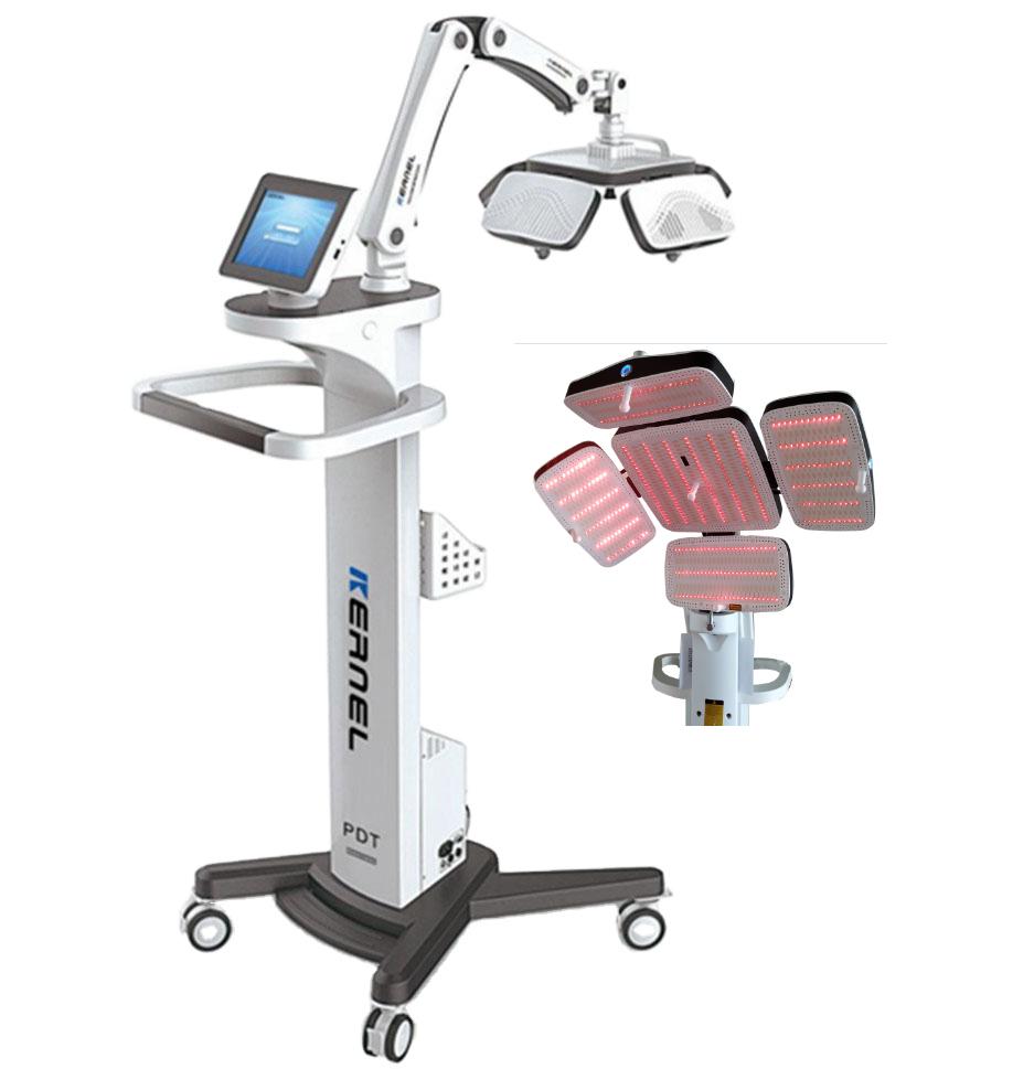 Saç Büyütme KN-8000A için Lazer Işık Terapi Makinesi