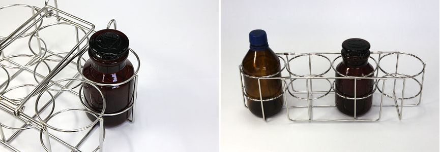 Handled Wire Bottle Carrier