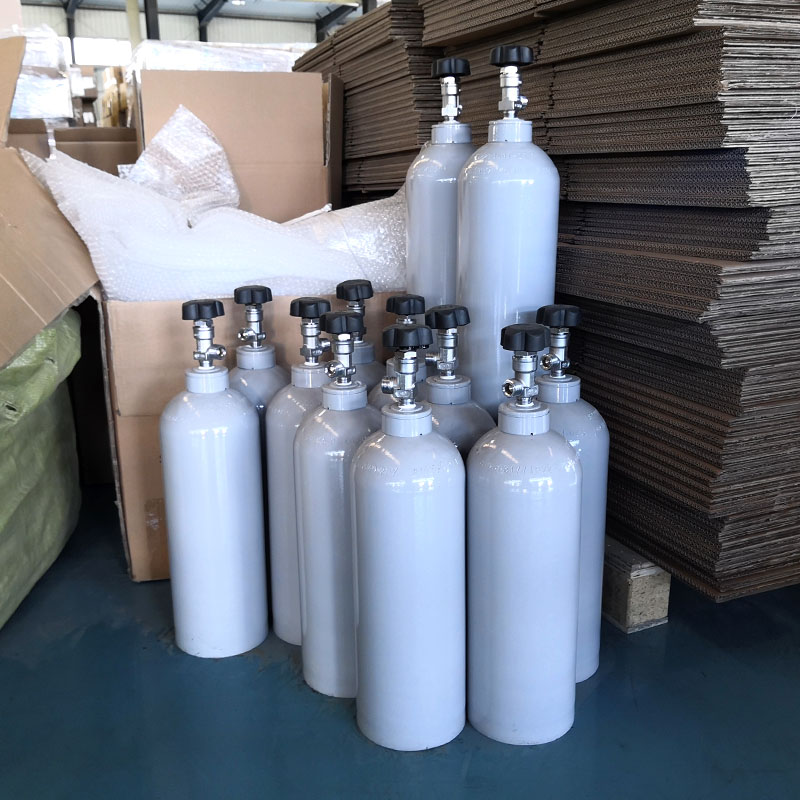 Single-ended Aluminium CO2 and Beverage Cylinders Manufacturers, Single-ended Aluminium CO2 and Beverage Cylinders Factory, Supply Single-ended Aluminium CO2 and Beverage Cylinders