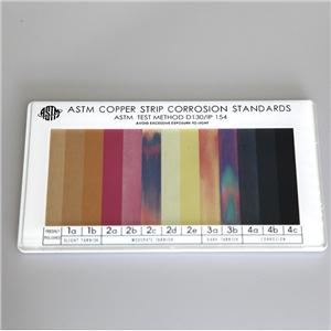 ASTM Copper Strip Corrosion Standards Colorimetric Board