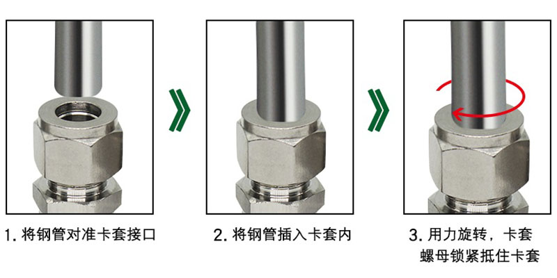 Stainless Steel Tubing Fitting