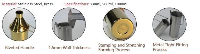 ISO 3170 Manual Sampling Beakers