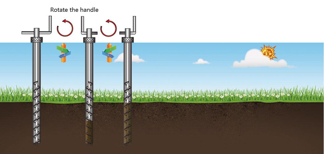 Manual Soil Auger