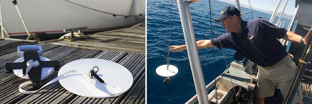 Ocean Water Secchi Disk