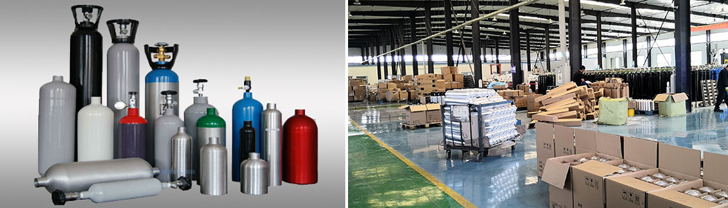 Aluminum Gas Sample Cylinder
