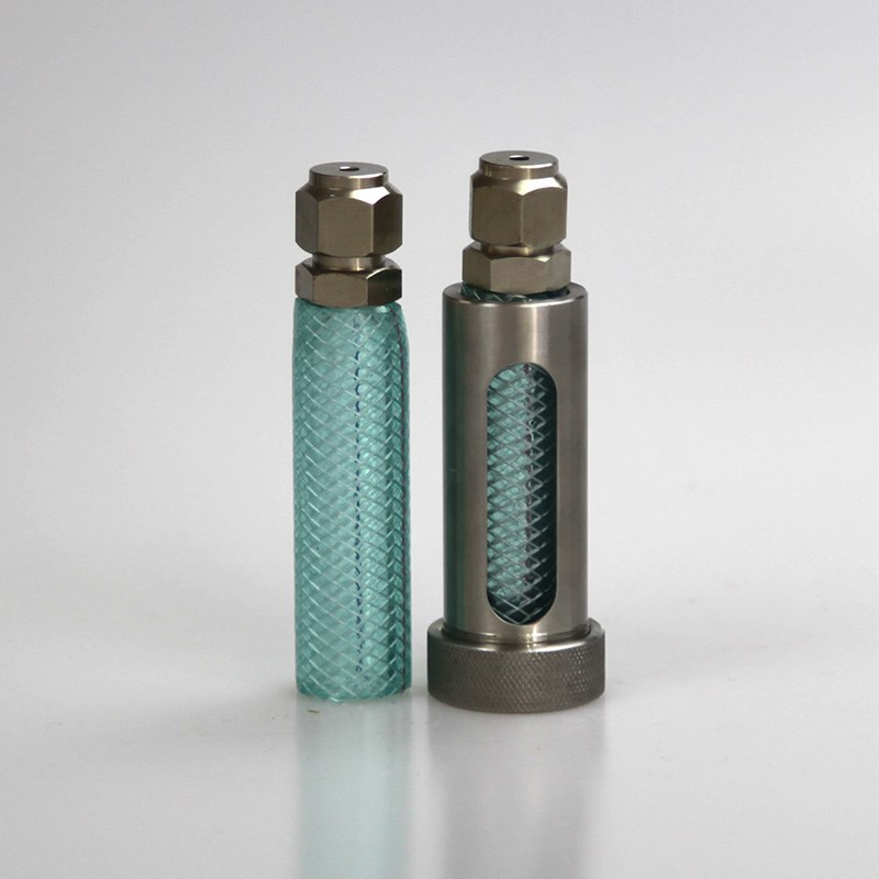 Liquefied Petroleum Gas Glass Sampling Bottles Used for Gas Chromatography