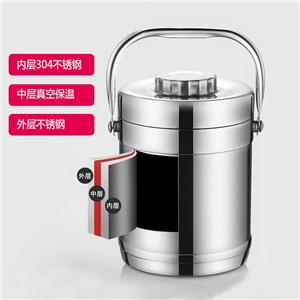 304 Stainless Steel Double Walls Food Grade Insulated Ice Bucket