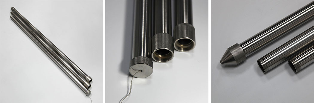 Coking Sticky Oil Sampling Tube