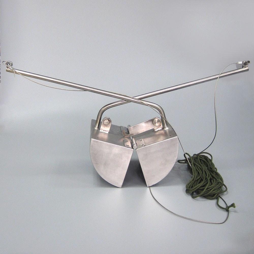 Portable Stainless Steel Lake Sediment and Sludge Grab Bucket