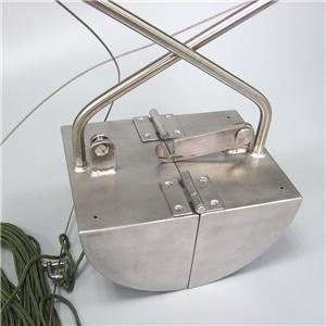 Portable Stainless Steel Lake Sediment and Sludge Grab Bucket Manufacturers, Portable Stainless Steel Lake Sediment and Sludge Grab Bucket Factory, Supply Portable Stainless Steel Lake Sediment and Sludge Grab Bucket