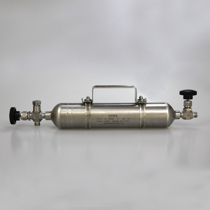 GC Liquefied Gas Ingector Cylinder for Laboratory Petroleum Test Instruments