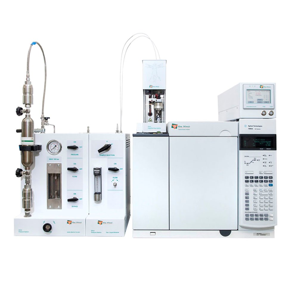 Laboratory Gas Chromatography Liquefied Gas Injector Cylinder for Sampling and Analysis