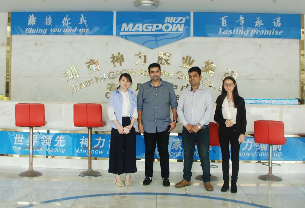 Colombia Customer Visit Magpow Factory