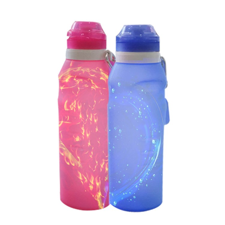 Silicone Foldable Sport Bottle