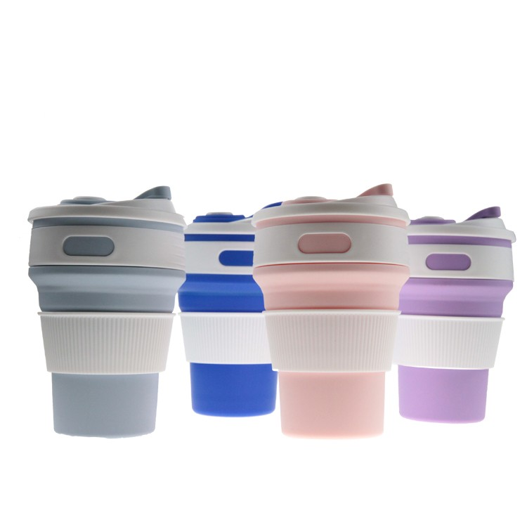 Collapsible Silicone Coffee Cup-HY-SC-26 Manufacturers, Collapsible Silicone Coffee Cup-HY-SC-26 Factory, Collapsible Silicone Coffee Cup-HY-SC-26