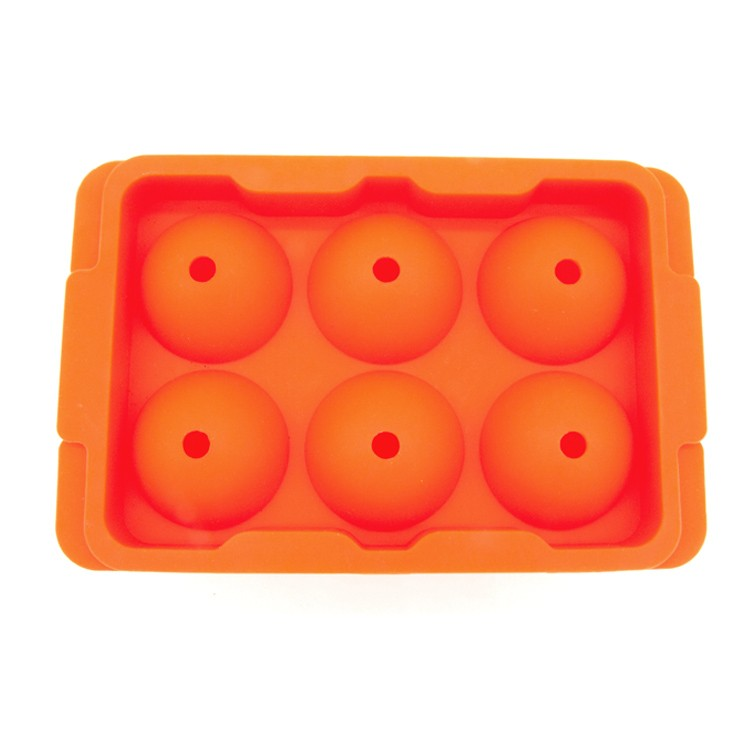 BPA free Silicone Golf Shape Ice Cube Mold-HY-IC-01