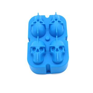 3D Skull Silicone ice cube mold-HY-SI-02