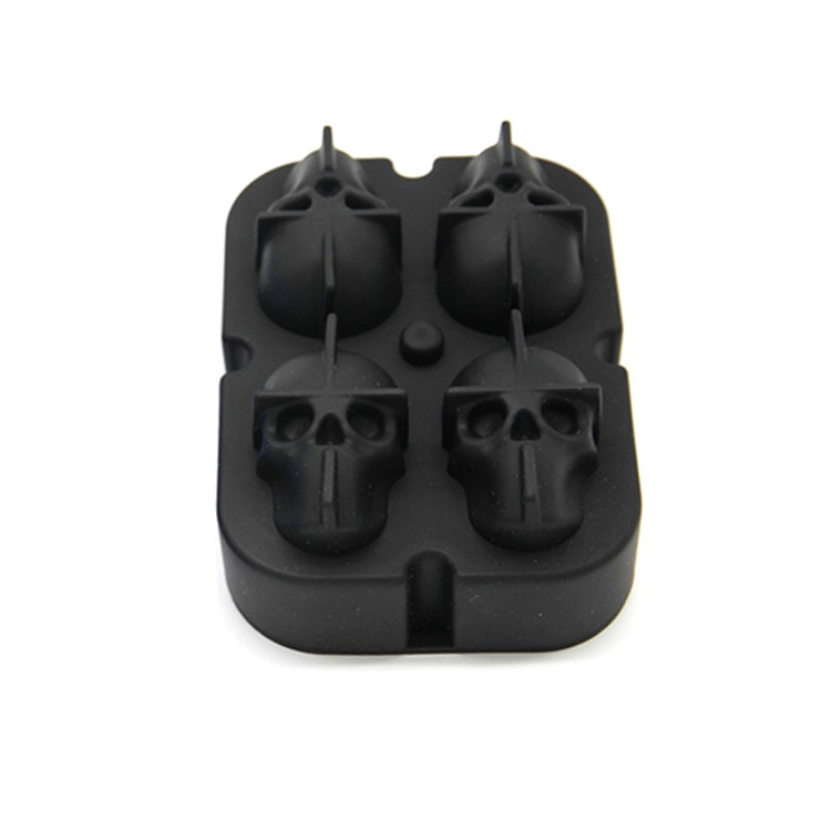 3D Skull Silicone ice cube mold-HY-SI-02 Manufacturers, 3D Skull Silicone ice cube mold-HY-SI-02 Factory, Supply 3D Skull Silicone ice cube mold-HY-SI-02