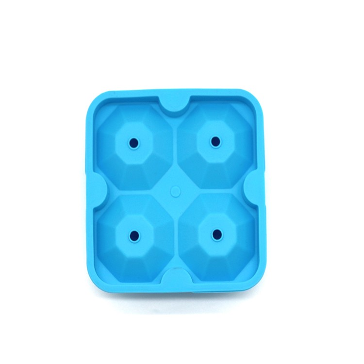 3D Diamond Silicone ice cube mold-HY-SI-03 Manufacturers, 3D Diamond Silicone ice cube mold-HY-SI-03 Factory, 3D Diamond Silicone ice cube mold-HY-SI-03