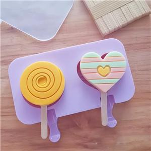 Cartoon silicone ice cream mold-HY-SI-06