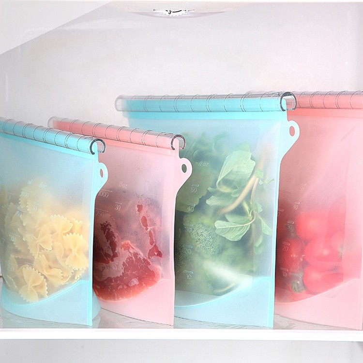 Silicone Food Reusable Storage Bag-HY-RS-03 Manufacturers, Silicone Food Reusable Storage Bag-HY-RS-03 Factory, Supply Silicone Food Reusable Storage Bag-HY-RS-03