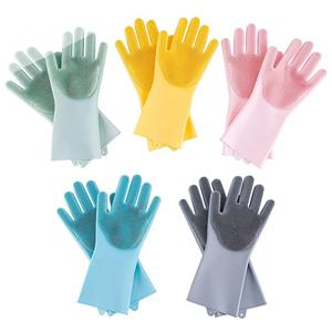 Kitchen Dishwashing Silicone Glove-HY-WG-02