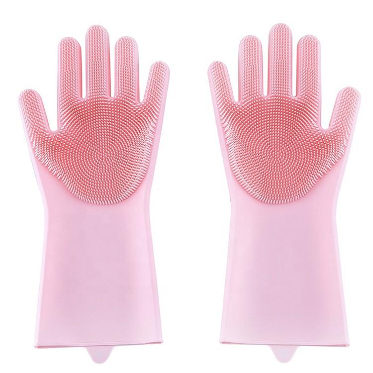 Kitchen Dishwashing Silicone Glove-HY-WG-02 Manufacturers, Kitchen Dishwashing Silicone Glove-HY-WG-02 Factory, Supply Kitchen Dishwashing Silicone Glove-HY-WG-02