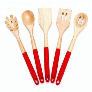 5Pcs silicone kitchenware Cooking Utensil Set-HY-KC-07