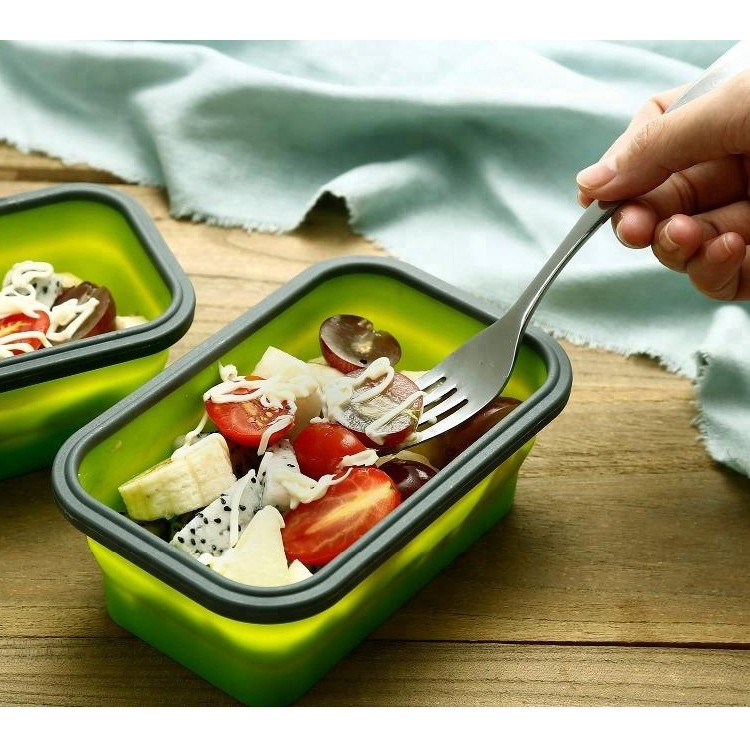 4 Pack Folding Portable Silicone Collapsible Container Food Storage Lunch Box-HY-LB-06 Manufacturers, 4 Pack Folding Portable Silicone Collapsible Container Food Storage Lunch Box-HY-LB-06 Factory, Supply 4 Pack Folding Portable Silicone Collapsible Container Food Storage Lunch Box-HY-LB-06