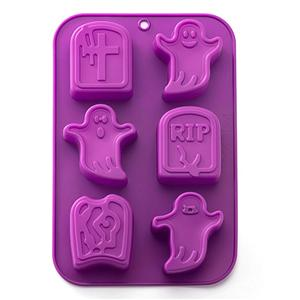 Halloween Ghost Wholesale 3D Baking Silicone Cake Molds HY-MD-20