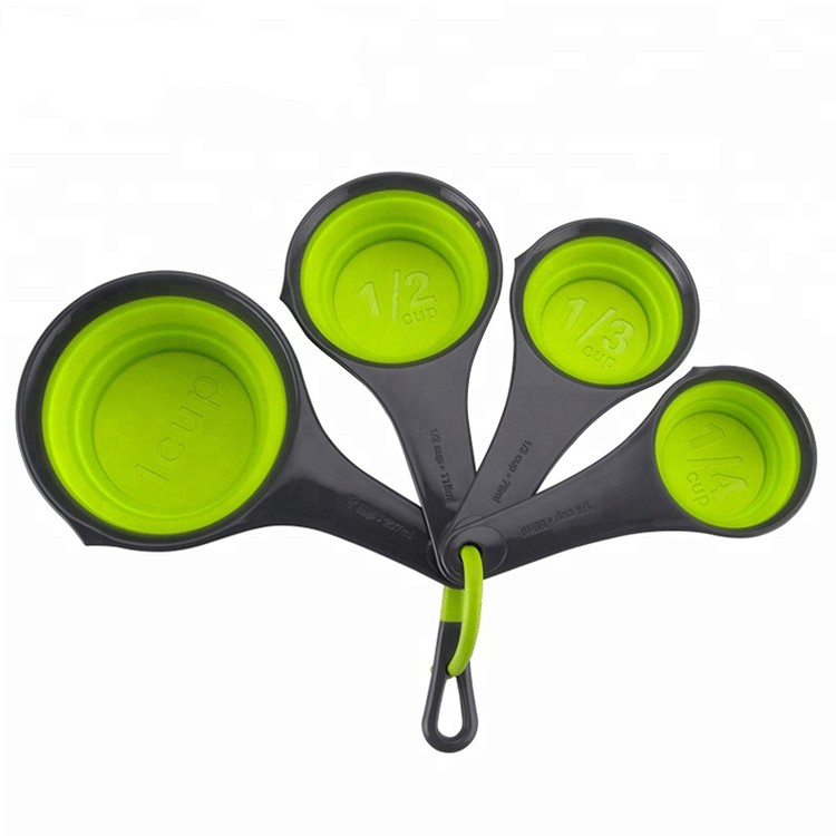 Collapsible Silicone Measuring Cup Set-HY-MC-01 Manufacturers, Collapsible Silicone Measuring Cup Set-HY-MC-01 Factory, Collapsible Silicone Measuring Cup Set-HY-MC-01