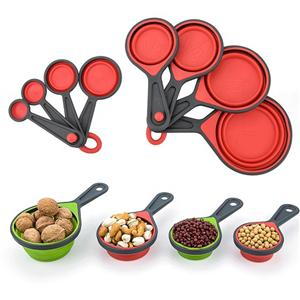 Collapsible Silicone Measuring Cup Set-HY-MC-01