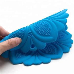 Heat Resistant Flower Shape Table Silicone food Mat-HY-FM-07