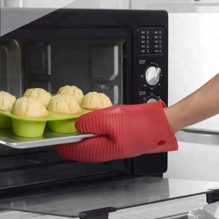 Silicone BBQ Grill Baking Gloves Heat Resistant Glove-HY-SG-04 Manufacturers, Silicone BBQ Grill Baking Gloves Heat Resistant Glove-HY-SG-04 Factory, Silicone BBQ Grill Baking Gloves Heat Resistant Glove-HY-SG-04