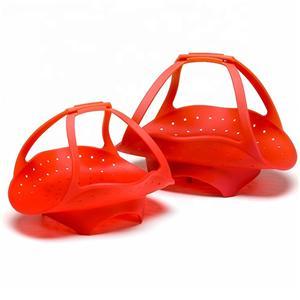 BPA Free silicone steamer basket-HY-SB-06